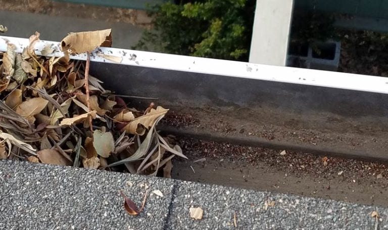 residential gutter cleaning service