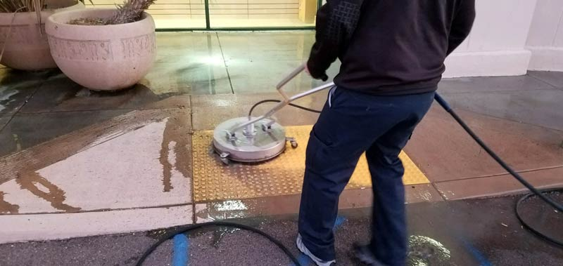 Commercial Pressure Washing – ABM Window Cleaning